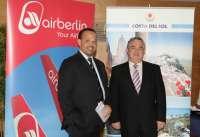 Air Berlín amplía el número de frecuencias desde Málaga a siete ciudades europeas