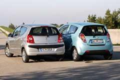 Chevrolet Spark vs Nissan Pixo.