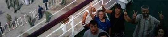 Los activistas retenidos en El Aaiún piden la intervención urgente de la ONU  (Imagen: TENERIFECONELSAHARA)