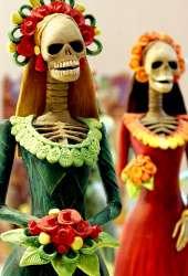 <p>Día de los Muertos en México</p>