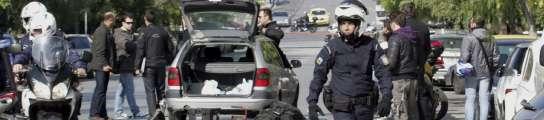 Estalla una bomba dejar heridos en la Embajada de Suiza en Atenas