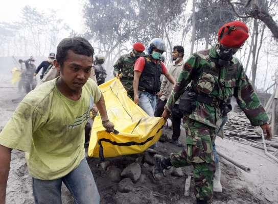 Erupción del Merapi