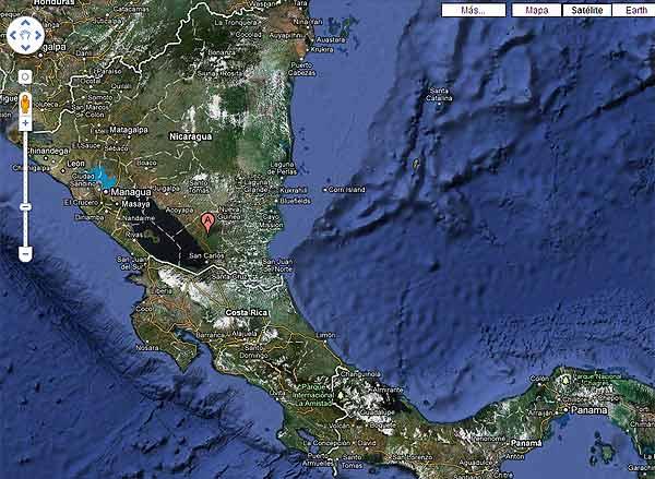 Google Maps corregirá sus mapas sobre la frontera de Costa Rica y Nicaragua