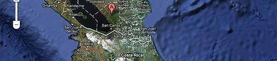 Google Maps reabre el litigio fronterizo entre Costa Rica y Nicaragua por una isla