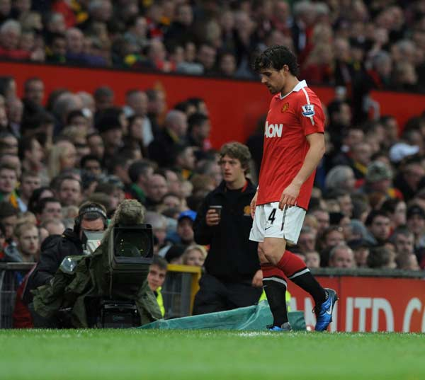 Owen Hargreaves, del Manchester United