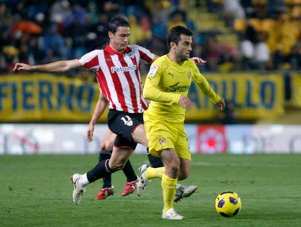 Rossi del Villarreal y Gurpegui del Athletic