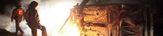 Los antinucleares alemanes logran detener el tren que transporta basura radiactiva  (Imagen: EFE)