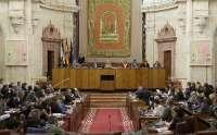 El Parlamento celebra este miércoles el debate de totalidad de los Presupuestos andaluces para 2011
