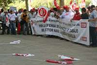 Trabajadores de astilleros se manifestarán este miércoles por Menéndez y Pelayo y se concentrarán ante el PSOE