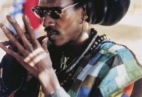 El cantante senegalés Cheikh Lô.