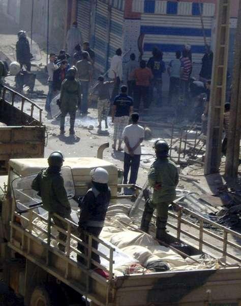 Disturbios en El Aaiún