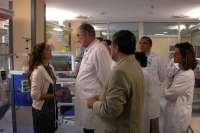 Salud invierte 2,8 millones en la reforma de la Unidad de Neonatología de Valme, que duplica su espacio