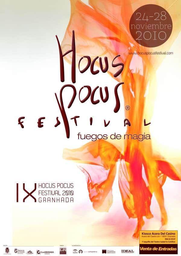 Hocus Pocus vuelve a reunir a grandes ilusionistas en su IX edición, dedicada a los