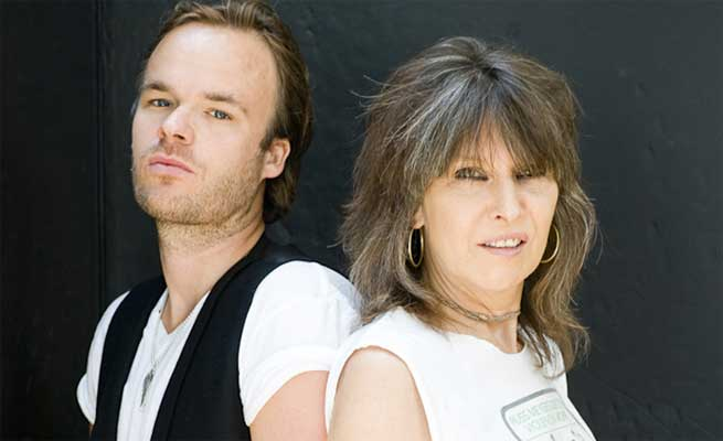 Jp Jones y Chrissie Hynde
