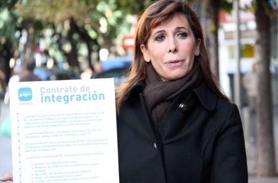 Alicia Sánchez-Camacho, presidenta del PPC.