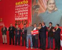 El 'Tigretostón' de Antonio García de Los Zagales de Valladolid, ganador del VI Concurso Nacional de Pinchos