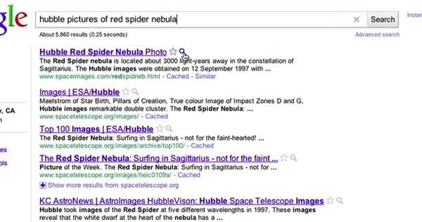 Google agiliza de nuevo sus búsquedas con 'Vistas previas instantáneas'