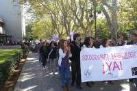 Estudiantes exigen al Gobierno el reconocimiento de Psicología como profesión sanitaria y la aprobación de un máster