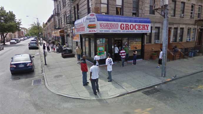 ' Street View' sorprende a tres narcotraficantes en Nueva York