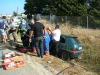 Un total de tres jóvenes fallecen y otro resulta herido grave en las carreteras andaluzas en el fin de semana