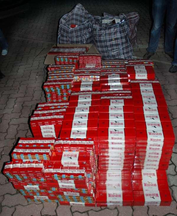 Detienen, acusado de contrabando, a un joven con casi 10.000 cajetillas de tabaco de procedencia ilegal