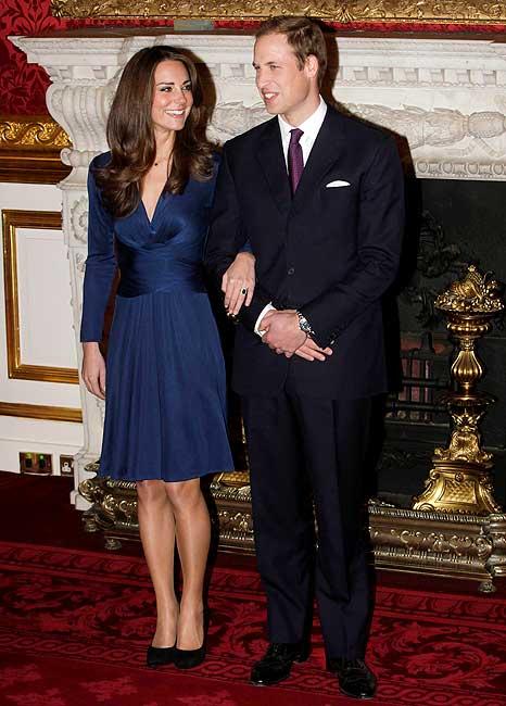 El príncipe Guillermo de Inglaterra y Kate Middleton