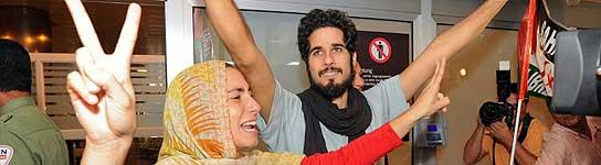"""Los activistas pro saharauis dicen que han sido testigos de un """"genocidio"""" en El Aaiún  (Imagen: Elvira Urquijo / EFE)"""