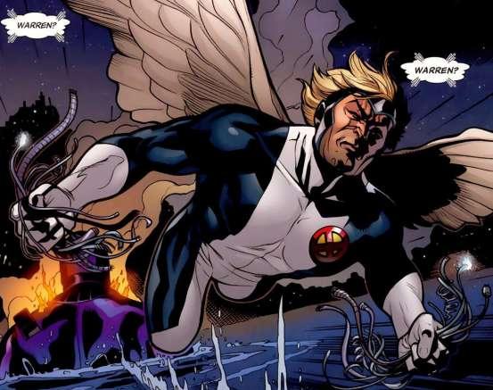 Ángel, de los X-Men