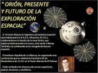 Un ingeniero aeronáutico que trabaja para la NASA ofrece una conferencia en el Teatro Bernal de El Palmar