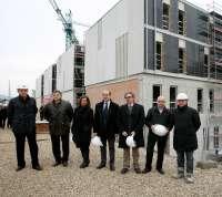 Las obras de construcción de la Ciudad de la Música finalizarán en junio