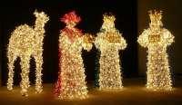 Una empresa de Huécija dedicada a la decoración navideña urbana prevé doblar su beneficio este año