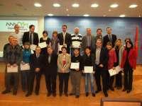 Sanzberro entrega los diplomas a las pymes participantes en el programa 'Empresa y Medio Ambiente'