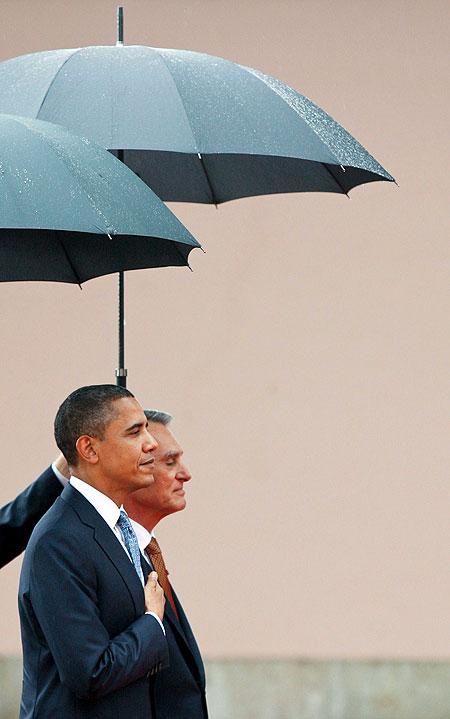 Obama en Portugal