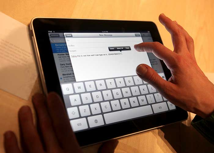 El iPad tendrá un periódico en exclusiva