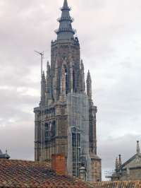 Barreda visita este jueves las obras de adecuación de los accesos de la Campana Gorda de la Catedral de Toledo
