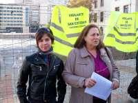 Plataforma Ciudadana en defensa de San Esteban alerta de la rotura del geotextil y el estancamiento de las aguas