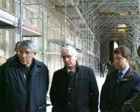 La Junta y el Ayuntamiento de Toledo estudiarán restaurar la fachada sur de la Catedral