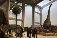 Unas 60 especies de dinosaurios estáticos y dinámicos a tamaño real se exponen en Mérida hasta el 25 de enero de 2011