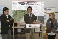 Martín inaugura la tercera fase del saneamiento del Besaya en Cartes, con una inversión de 172.000 euros