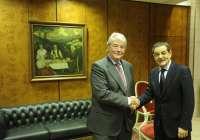 Los presidentes de CECO y BBK mantienen un primer encuentro institucional en Bilbao