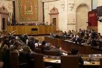 El Pleno del Parlamento pide a la Junta que refuerce el apoyo financiero a las pymes y autónomos