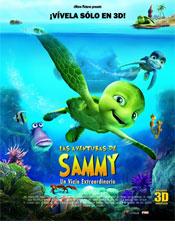 Las aventuras de Sammy - Cartel