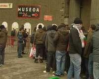San Mamés cuelga en dos horas el cartel de 'no hay billetes' para la vuelta de octavos del Athletic contra el Barça
