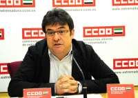 CCOO Extremadura achaca los recortes a que Zapatero tiene