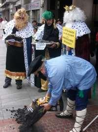 Olentzero y los Reyes Magos llevan