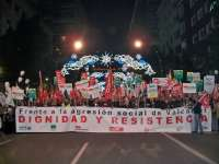 Miles de personas se manifiestan por quinta vez en Murcia contra