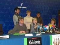 Fran Perea, Anabel Alonso, Kiti Manver y Eloy Arenas,