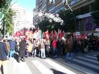 Los sindicatos convocan este miércoles una nueva manifestación en Murcia contra los recortes del Gobierno regional