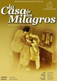 La Agrupación Álvarez Quintero presenta 'La casa de los milagros' el 21 y 22 enero en la Sala Cajasol