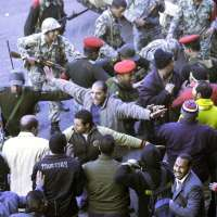 La plaza de la Liberación, en El Cairo.